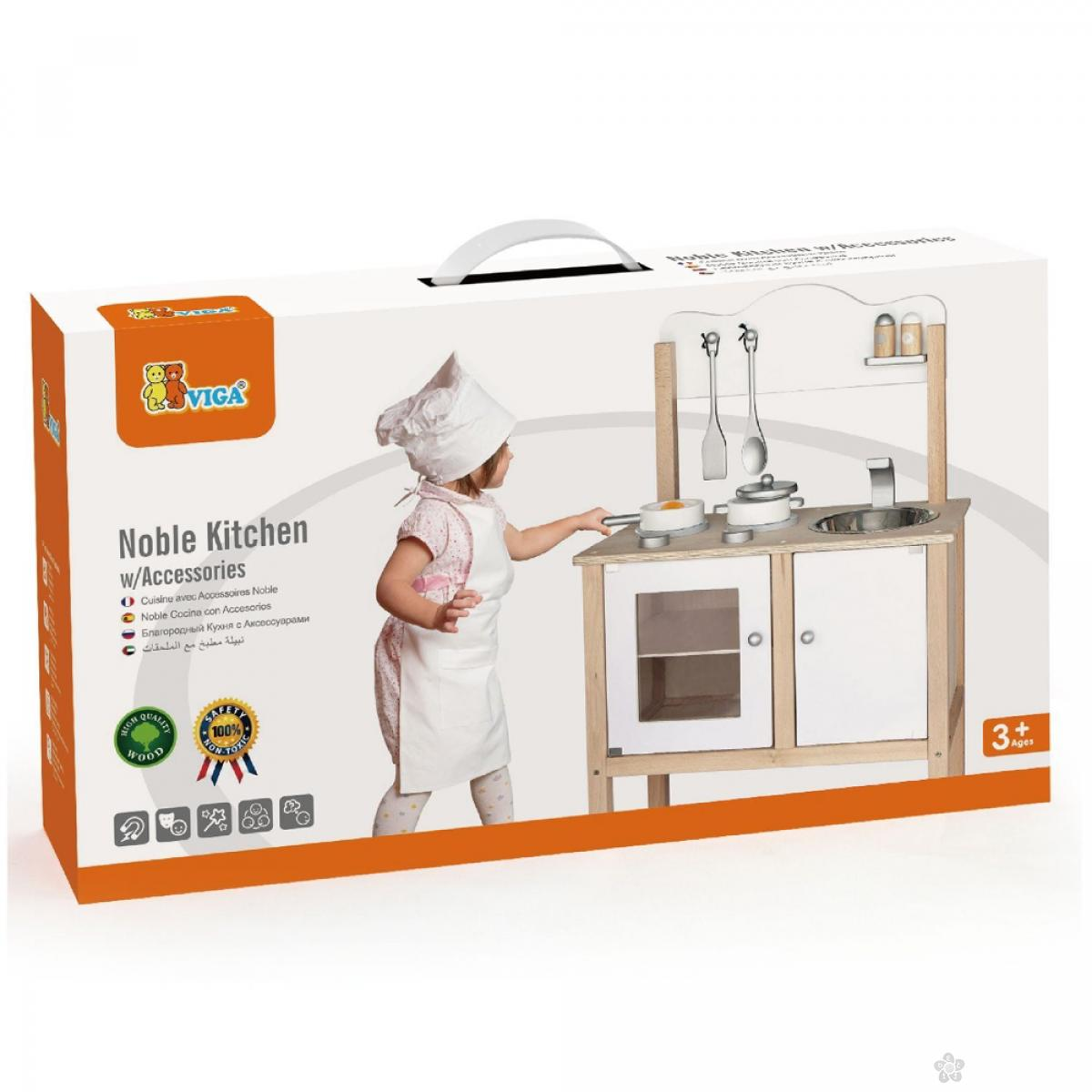 Drvena kuhinja Noble Viga, 50223