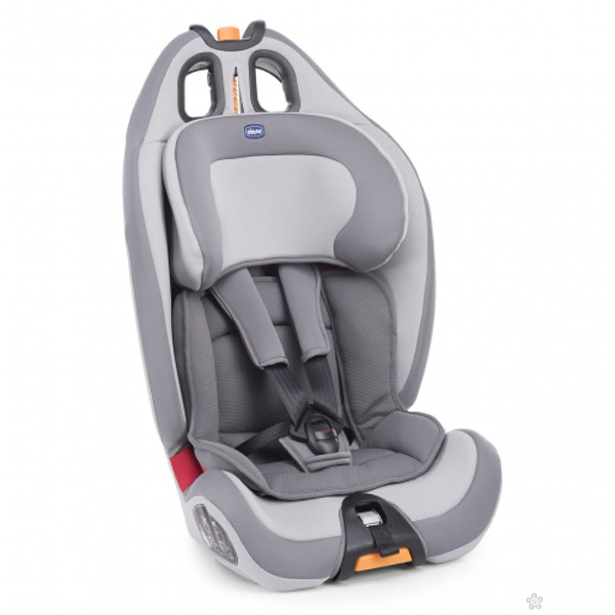 Auto sedište  Chicco (9-36kg) Gro-Up 123 elegance-sivo, 5100099