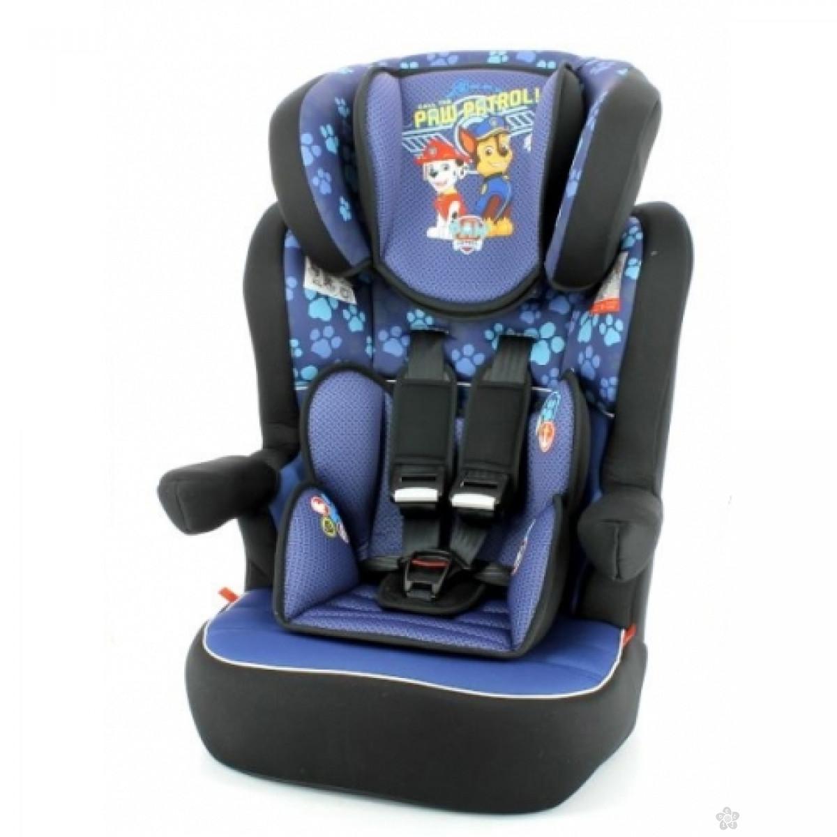 Nania auto sediste I-max 1/2/3 (9-36kg)Paw Patrol blue-plavo, 5100192