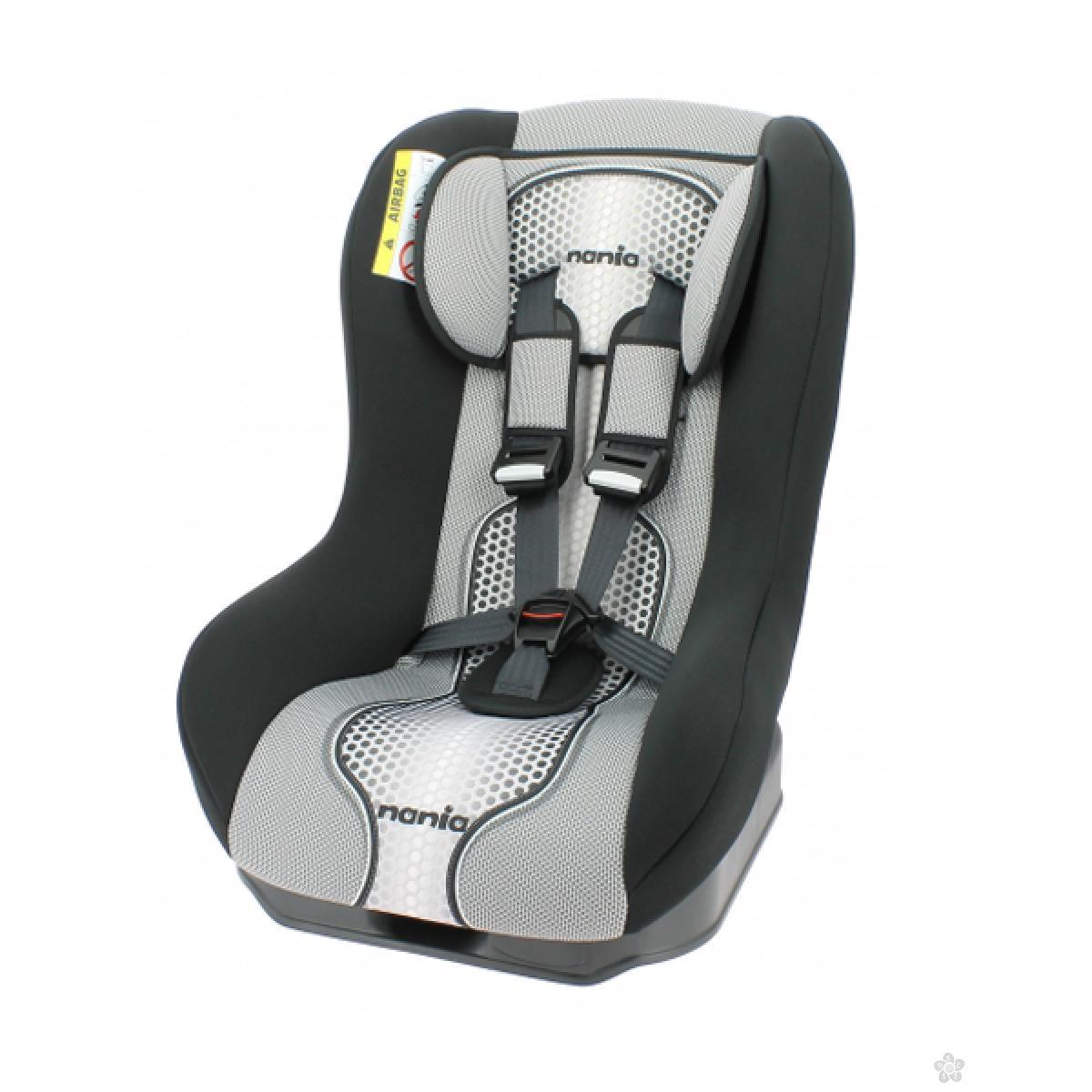 Nania auto sedište Maxim 0/1 (0-18kg) pop black - crno 5121004