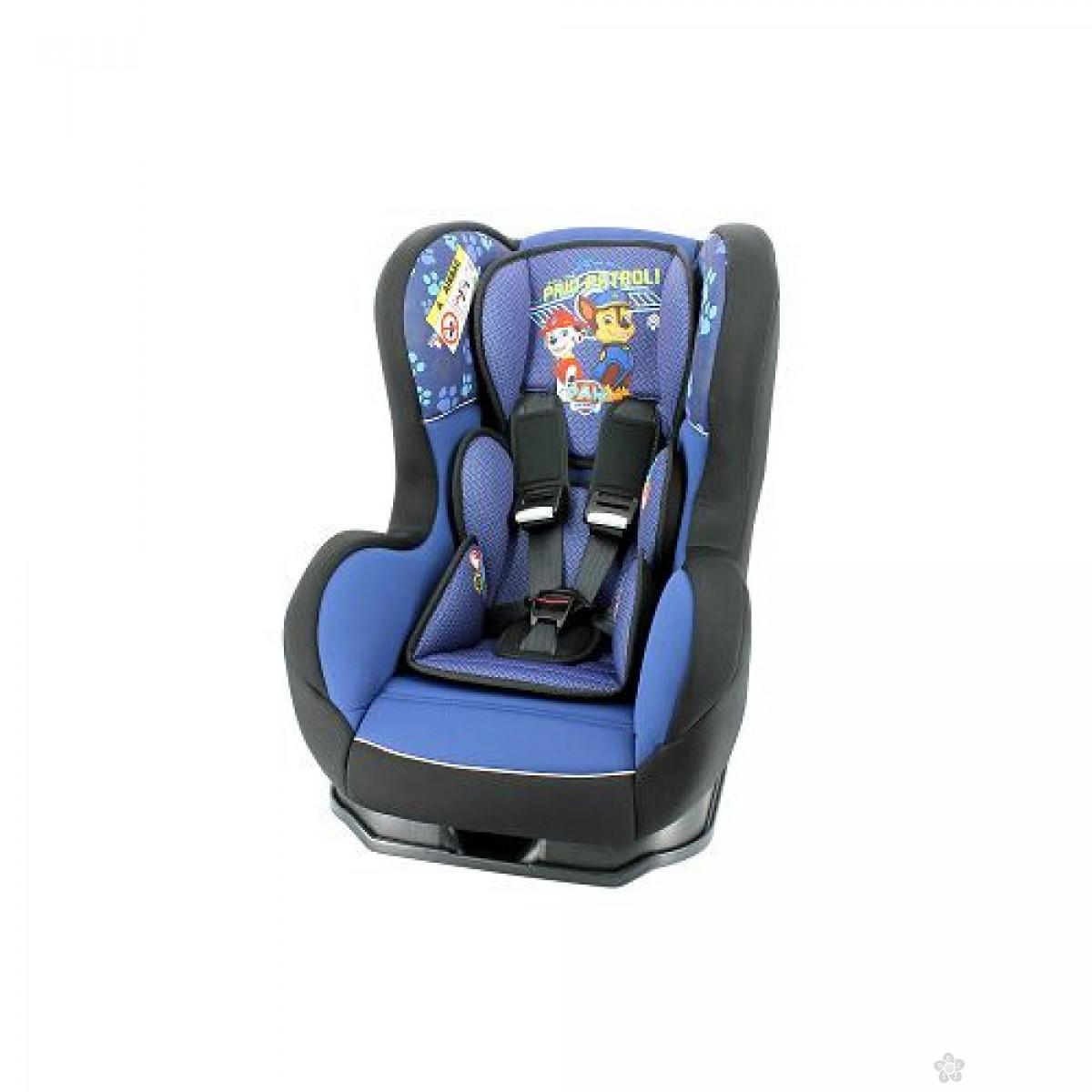 Nania auto sediste Cosmo 0/1/2 (0-25kg) Paw Patrol,blue-plavo, 5121123