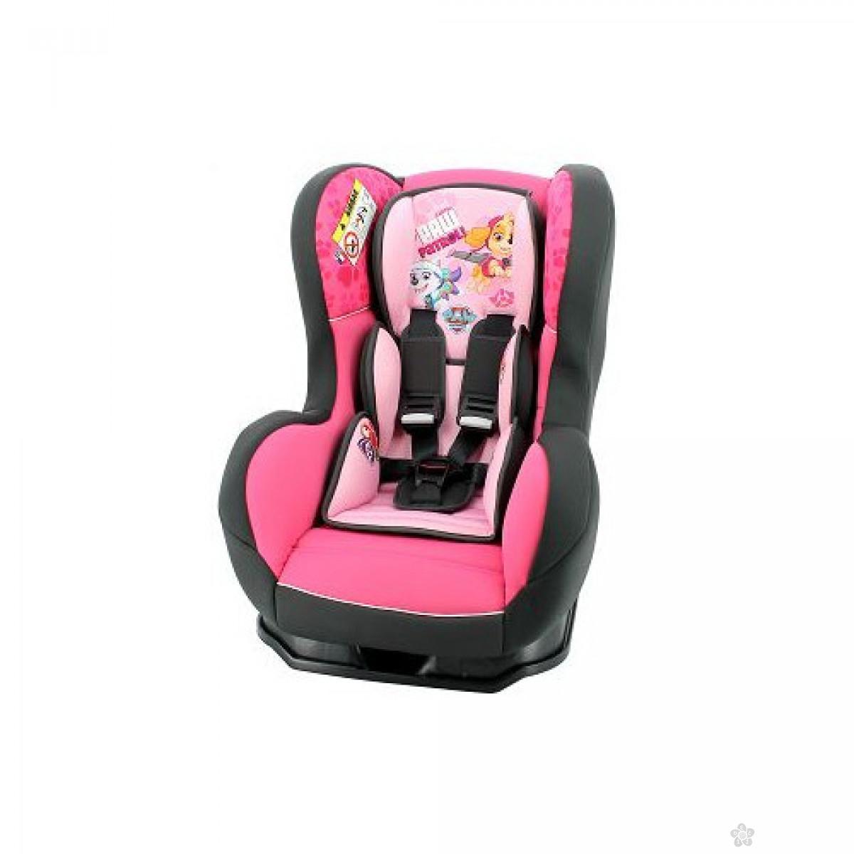 Nania auto sediste Cosmo 0/1/2 (0-25kg) Paw Patrol,pink-roze, 5121124