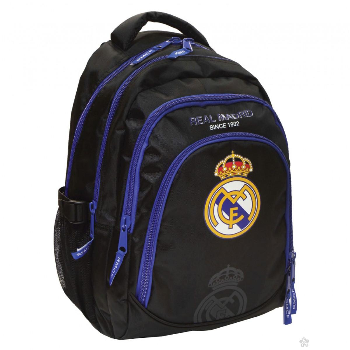 Ovalni ranac Real Madrid plavi 53228