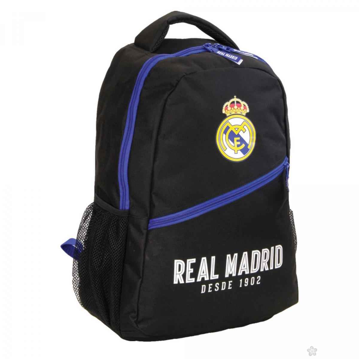 Ovalni ranac Real Madrid crni 53232