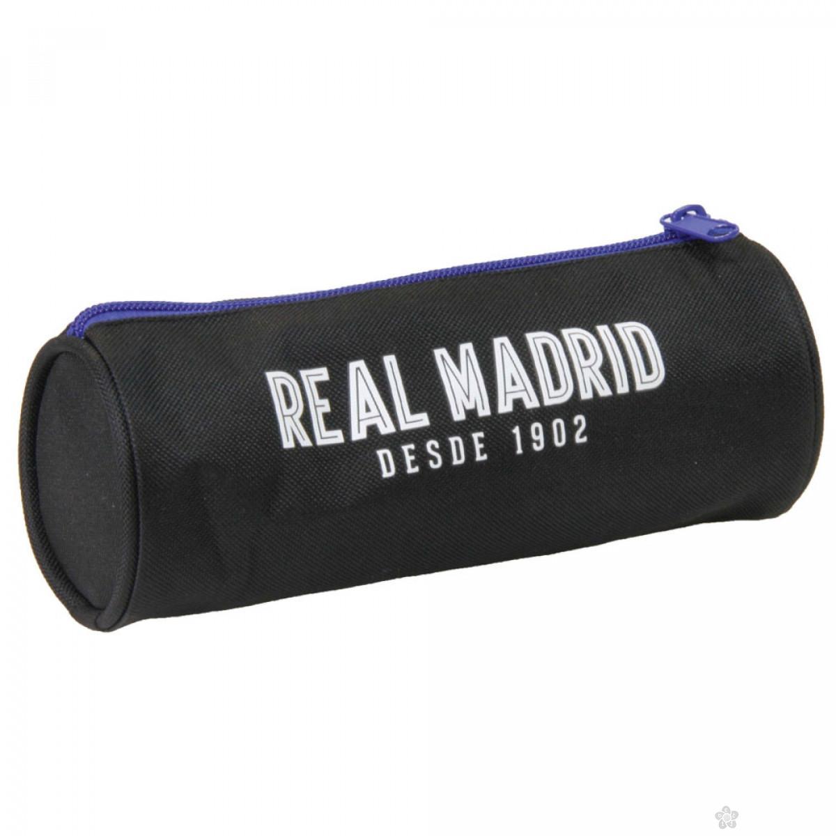 Ovalna pernica Real Madrid crna 53234