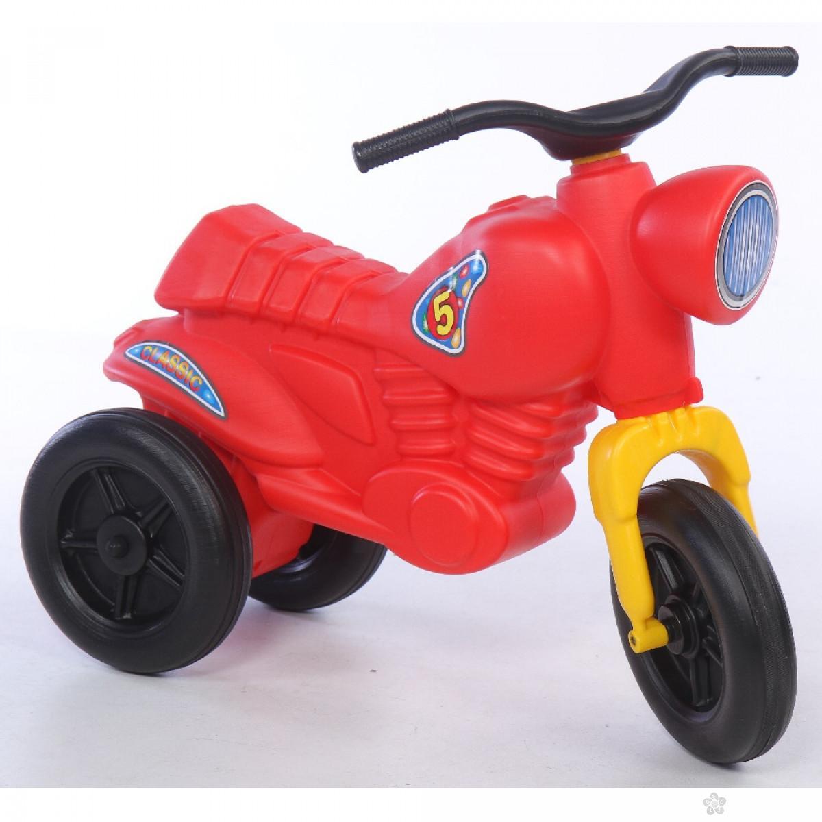 Dečija guralica Classics 5 Maxi Motor Bike crvena, 540154