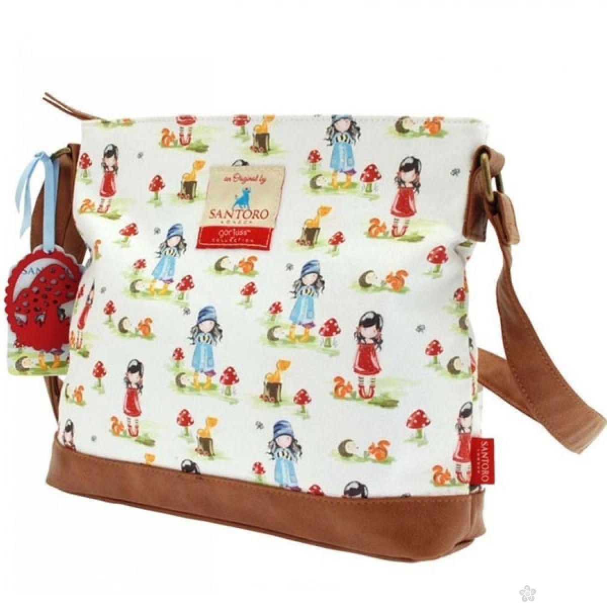 Gorjuss torba na rame Toadstools 541GJ01