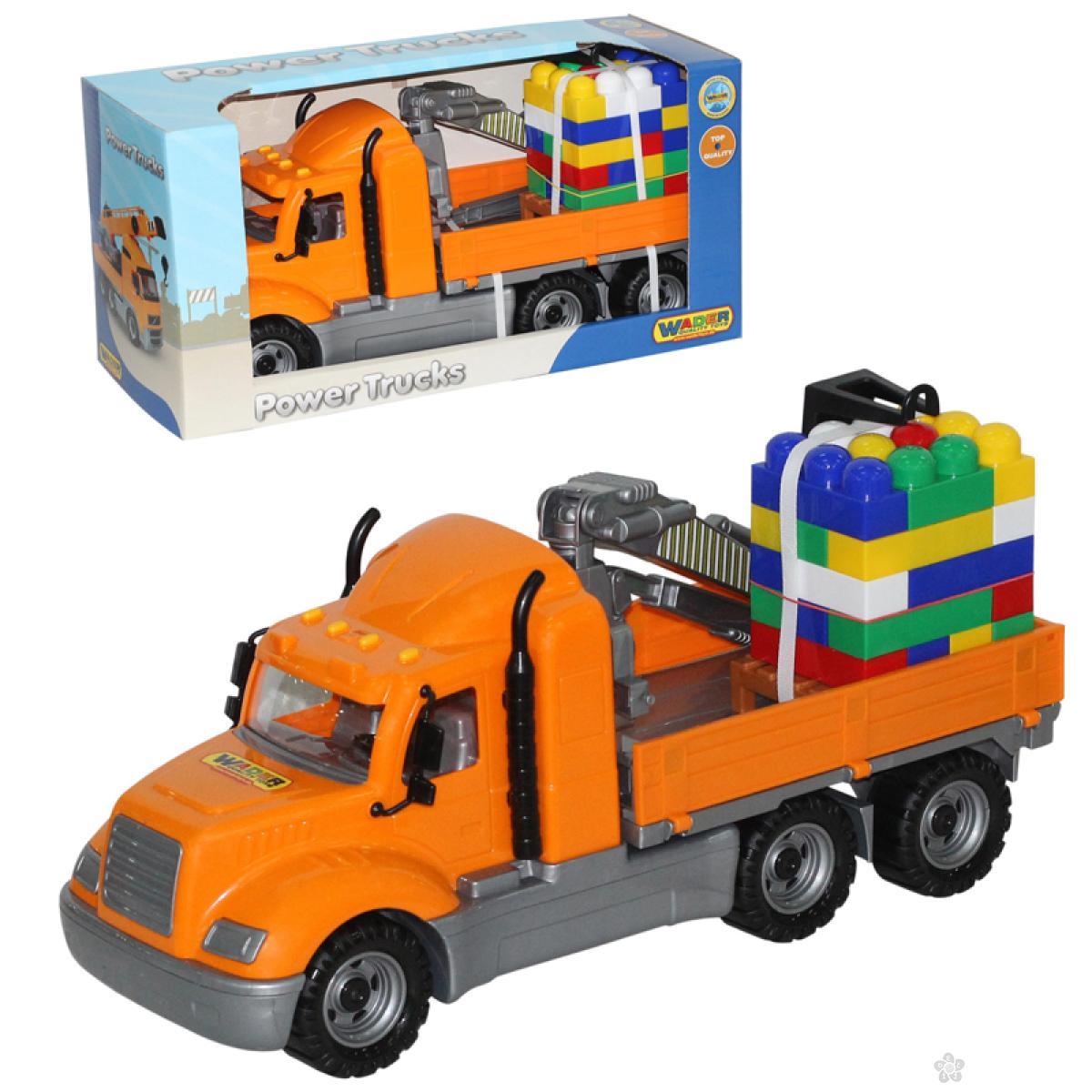 Kamion sa kockama 55590