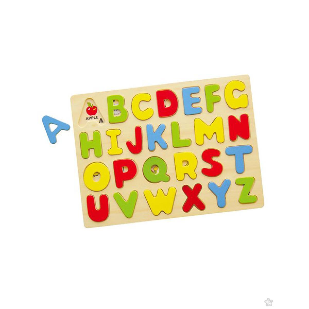 Drvena slagalica ABC 58543