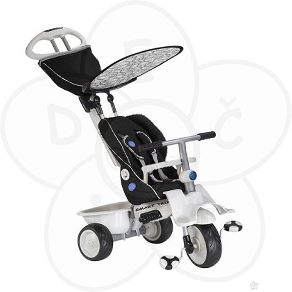 Tricikl Recliner 4u1 - Black