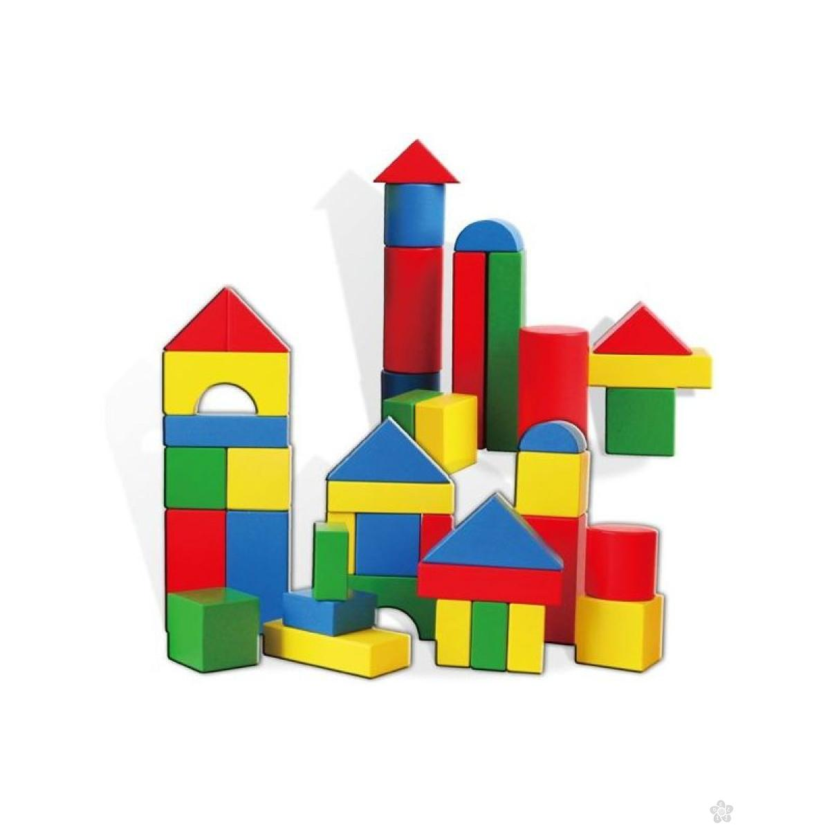 Geometrijski blokovi u kutiji 59542