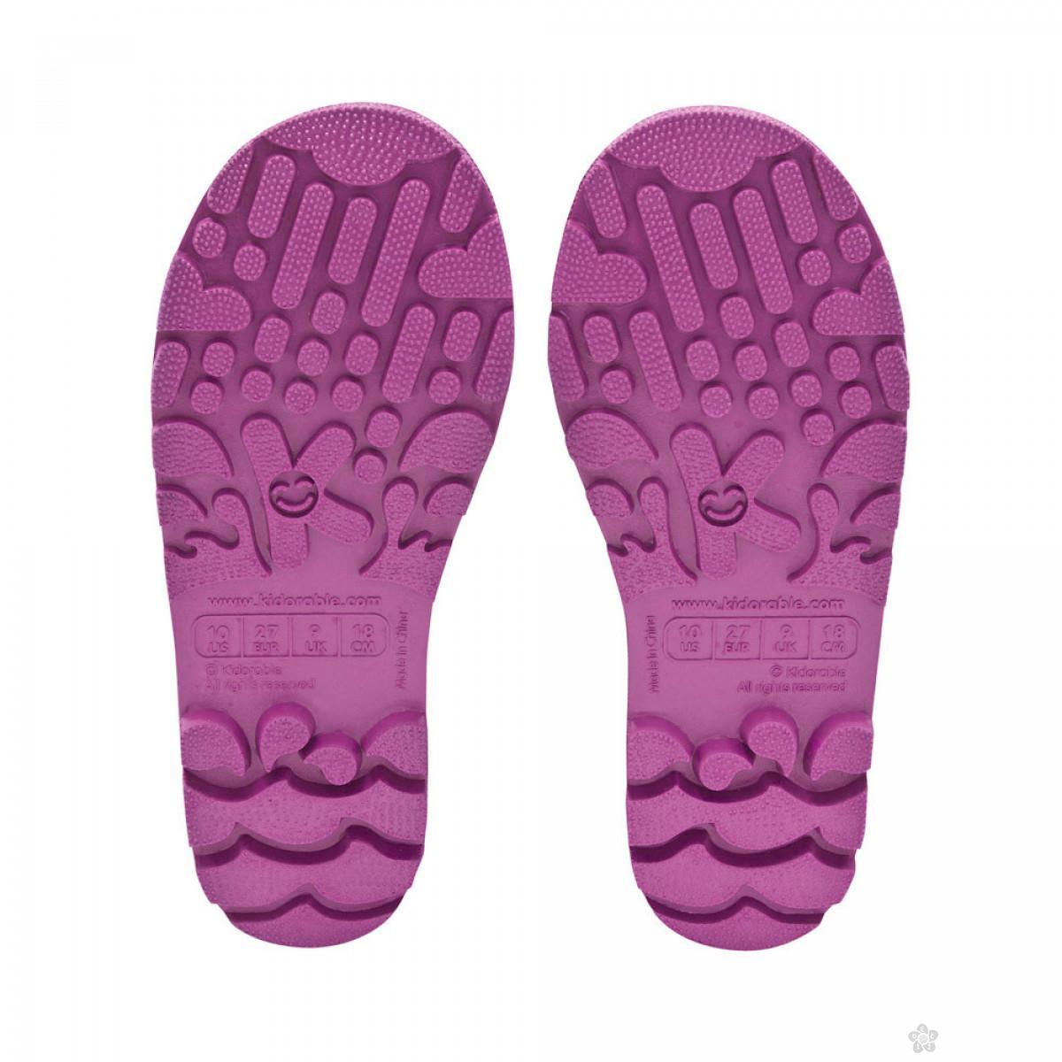 Kidorable gumene čizme Leptir