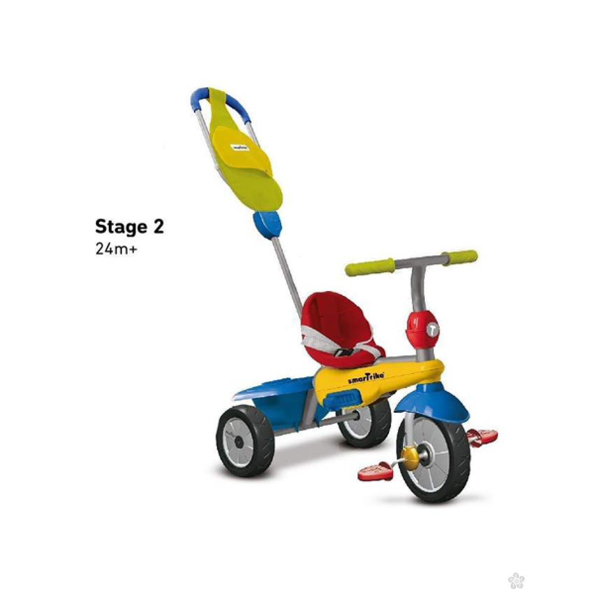 Tricikl Smart Trike Breeze Multicolor, 6160100