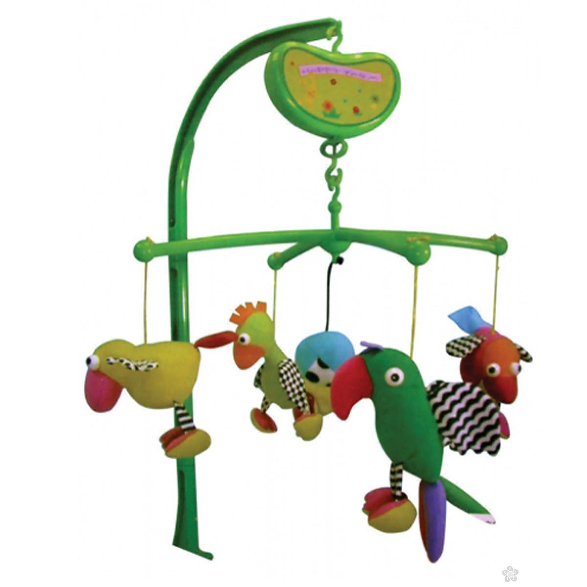 Muzička  vrteška Biba Toys ptičice, 6330063