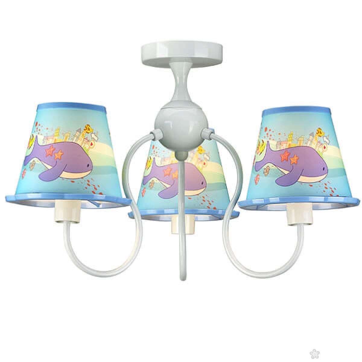 Plafonska svetiljka delfini MX13094-3BAY