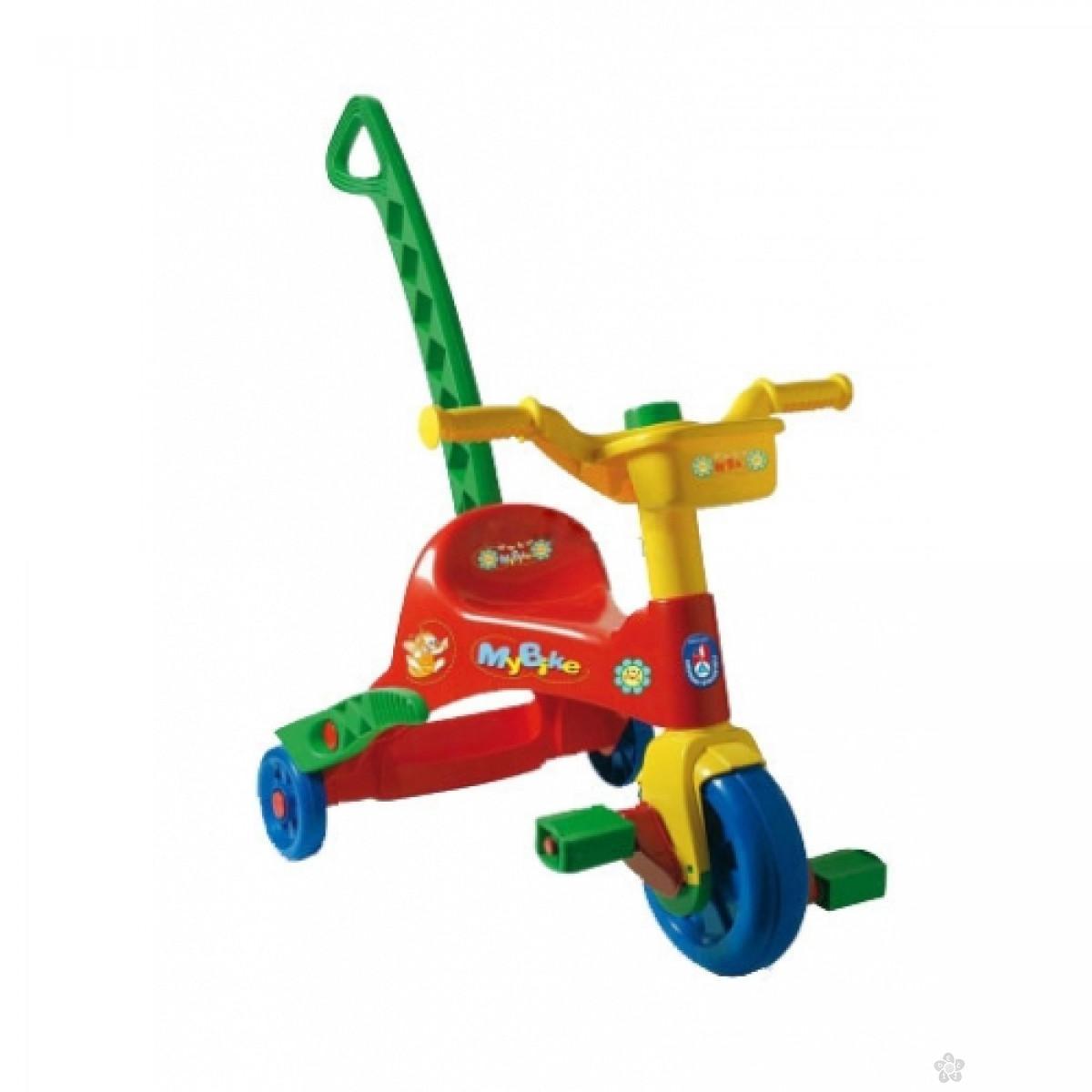 Tricikl sa ručkom Androni Giocattoli, 6890015
