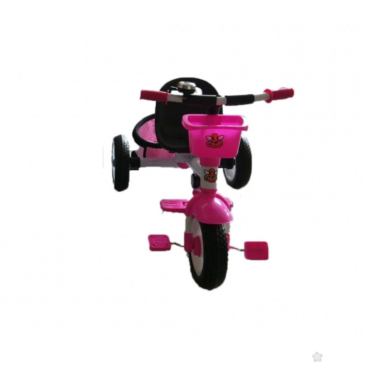 Tricikl 3 Cycle mini, 6890104, rozi