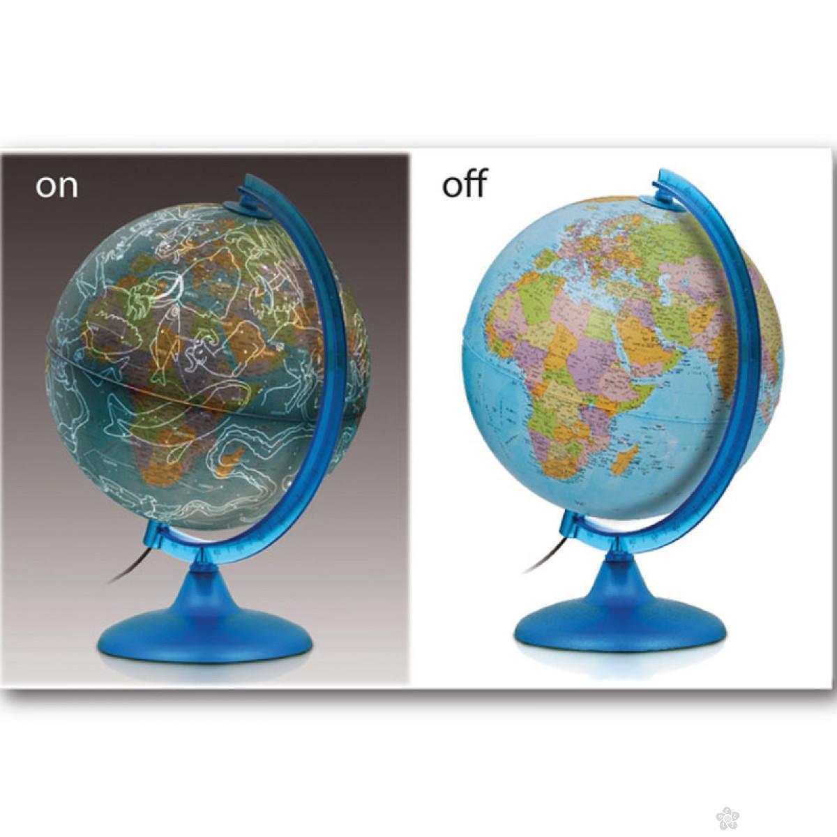 Globus lampa noć i dan
