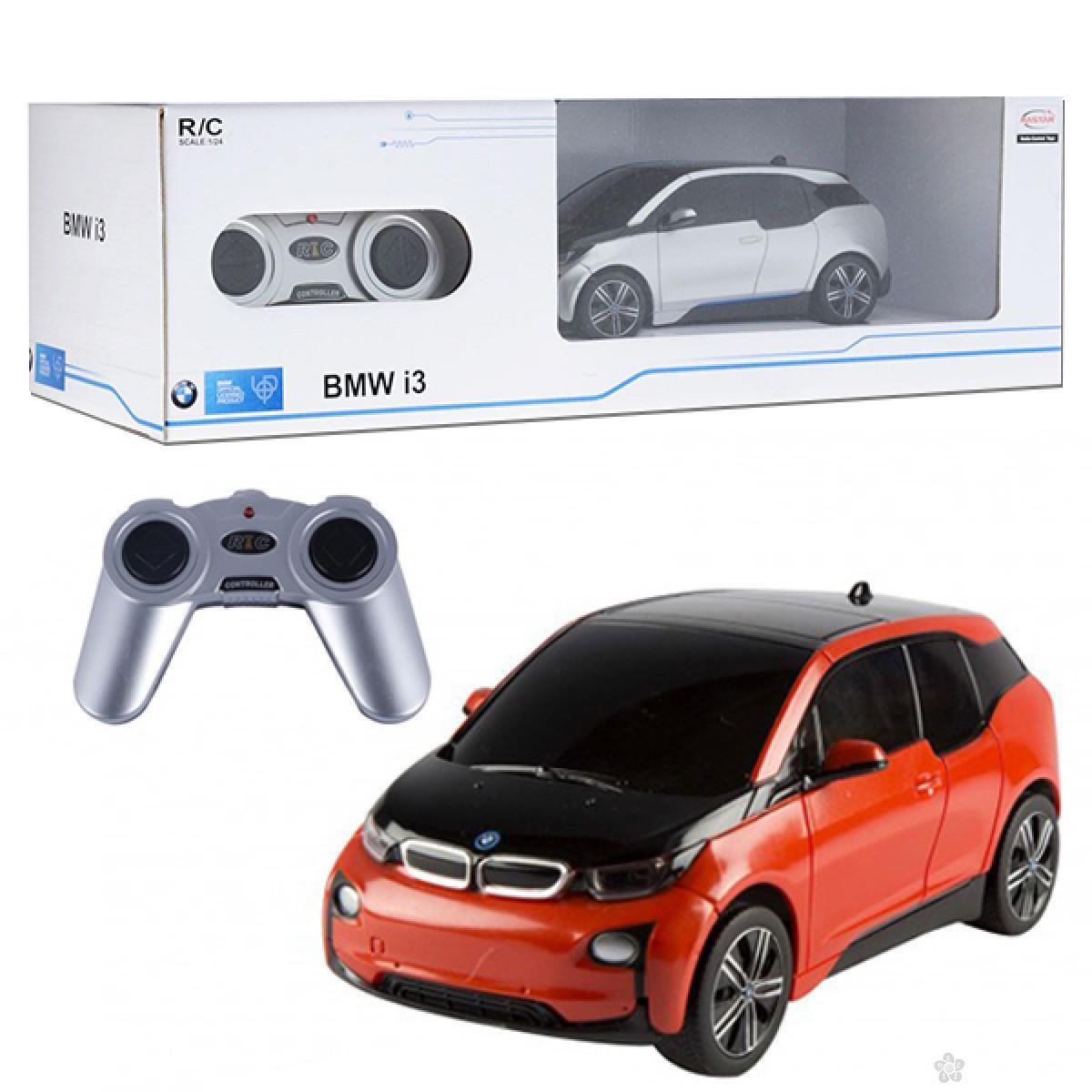 Auto na daljinsko upravljanje Rastar 1-24 BMW i3, 71200