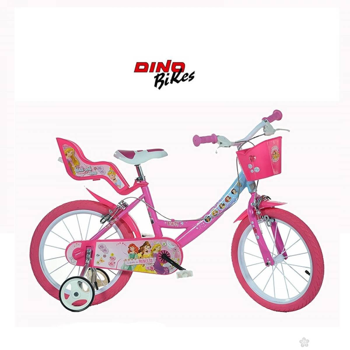 Bicikl za decu model 708-16″ Miss Cat ljubičasti