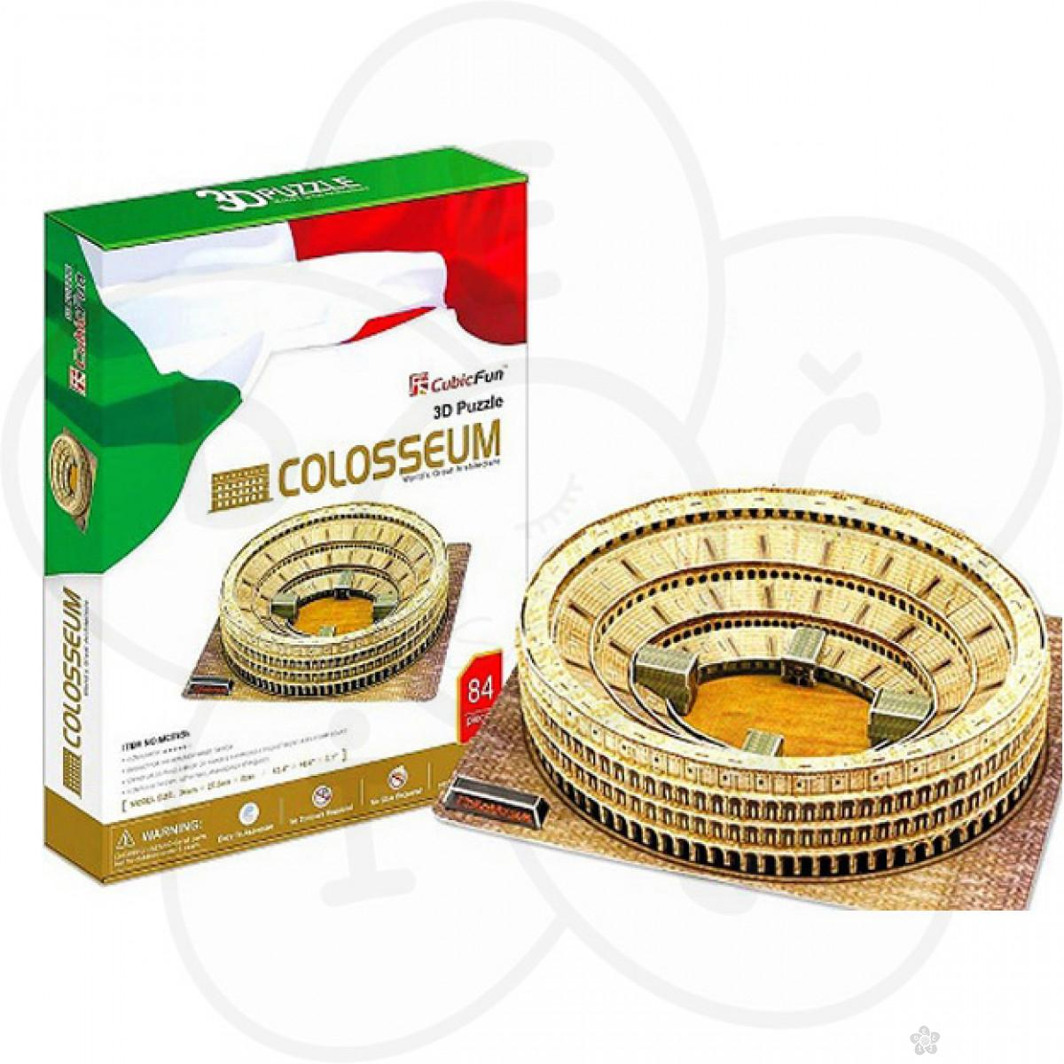 Igračke - 3D puzzle Koloseum Italija | Dečji sajt
