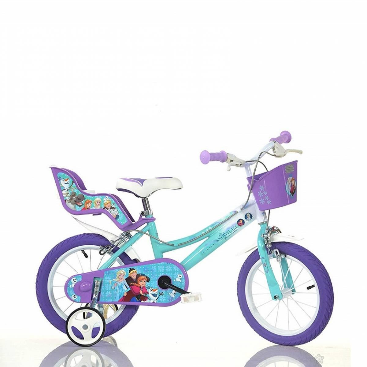 Dečiji Bicikl Snow Princess model 716-12 LJUBIČASTI