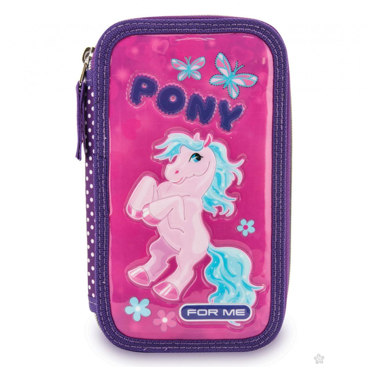 Dupla pernica puna Pony 75727