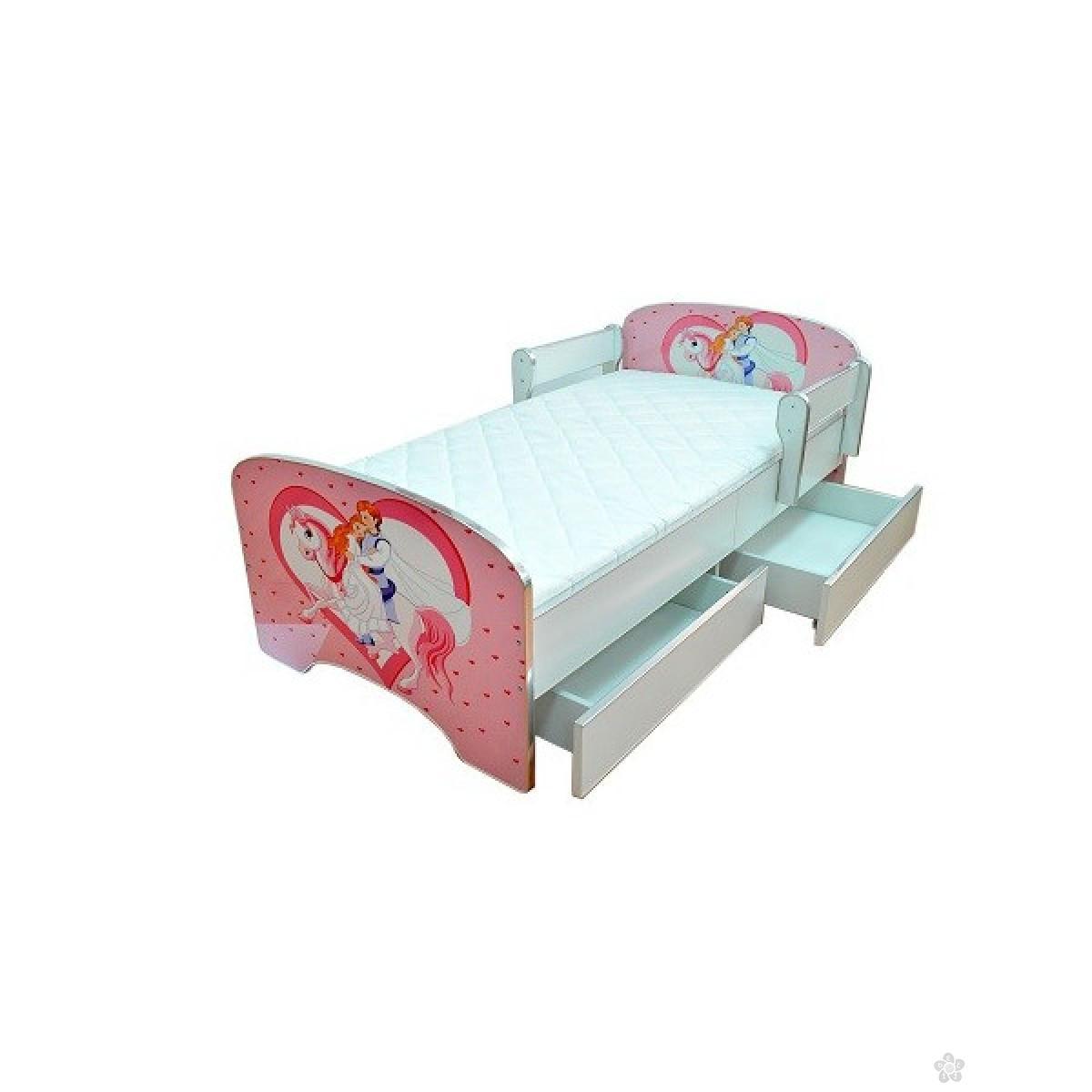 Krevet sa fiokom, Princess model 803