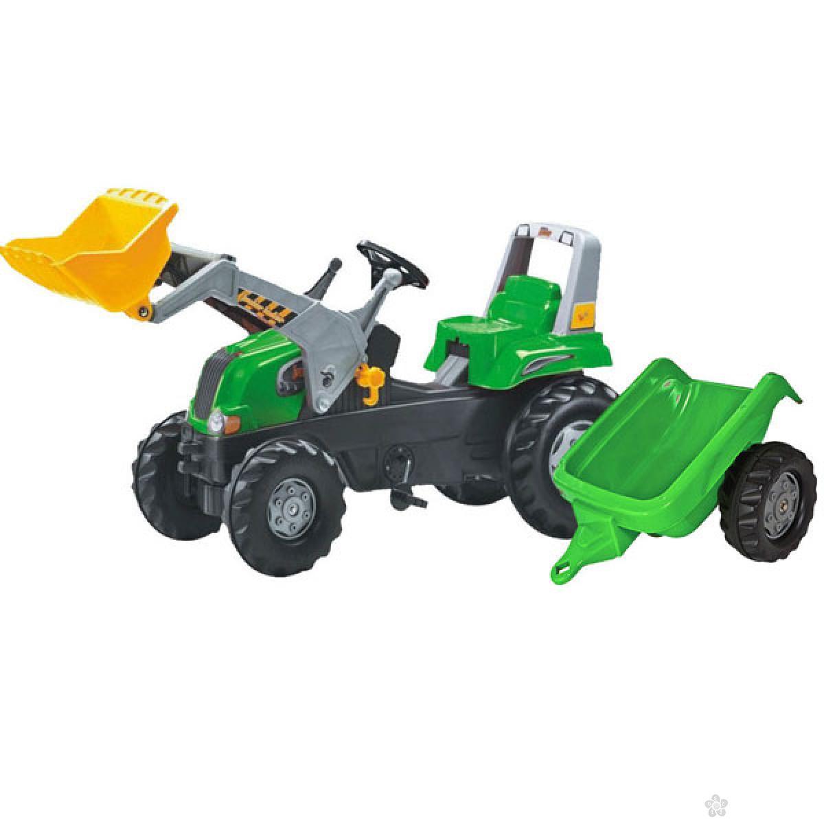 Traktor junior sa kašikom i prikolicom 812202