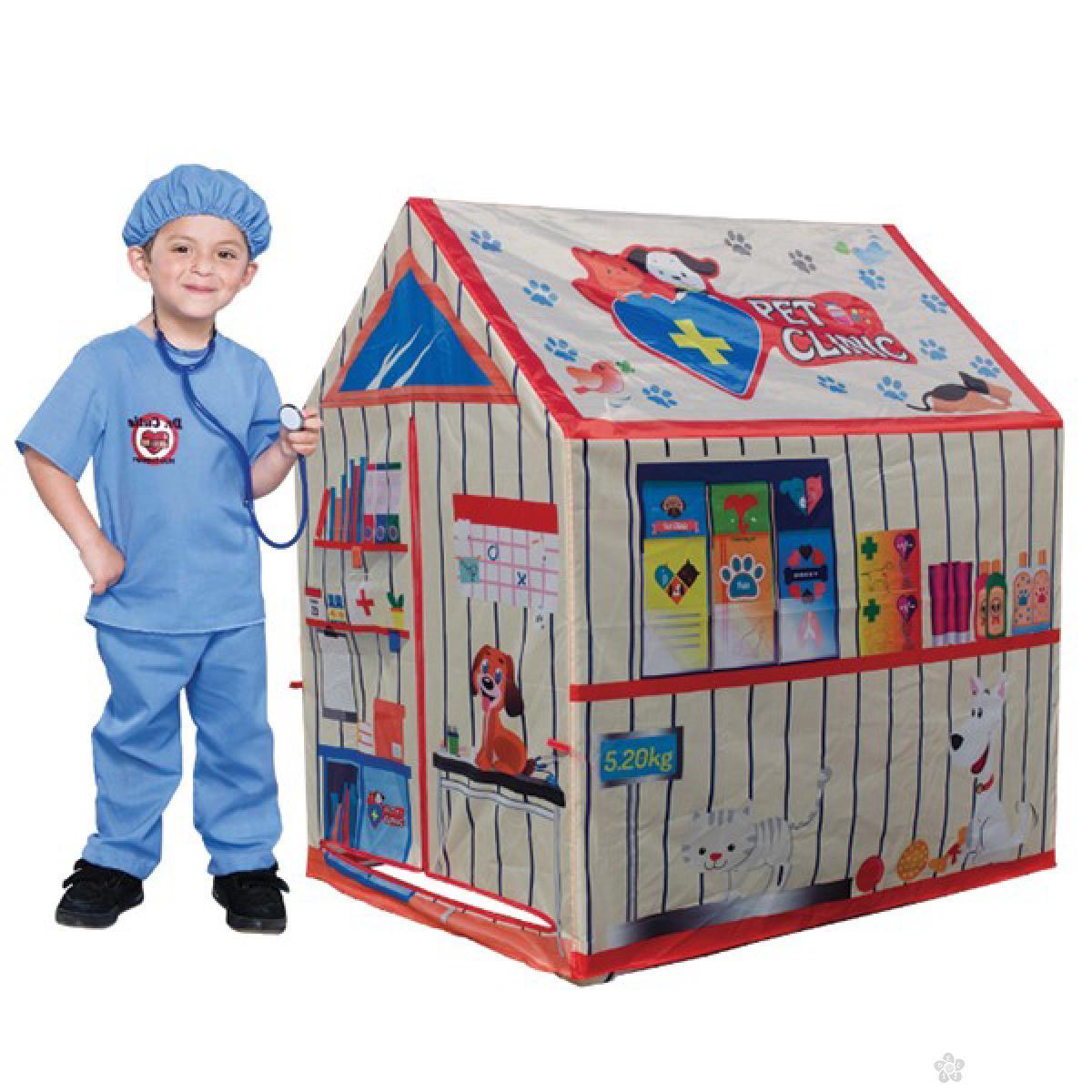 Šator-kućica veterinarska stanica, 8165