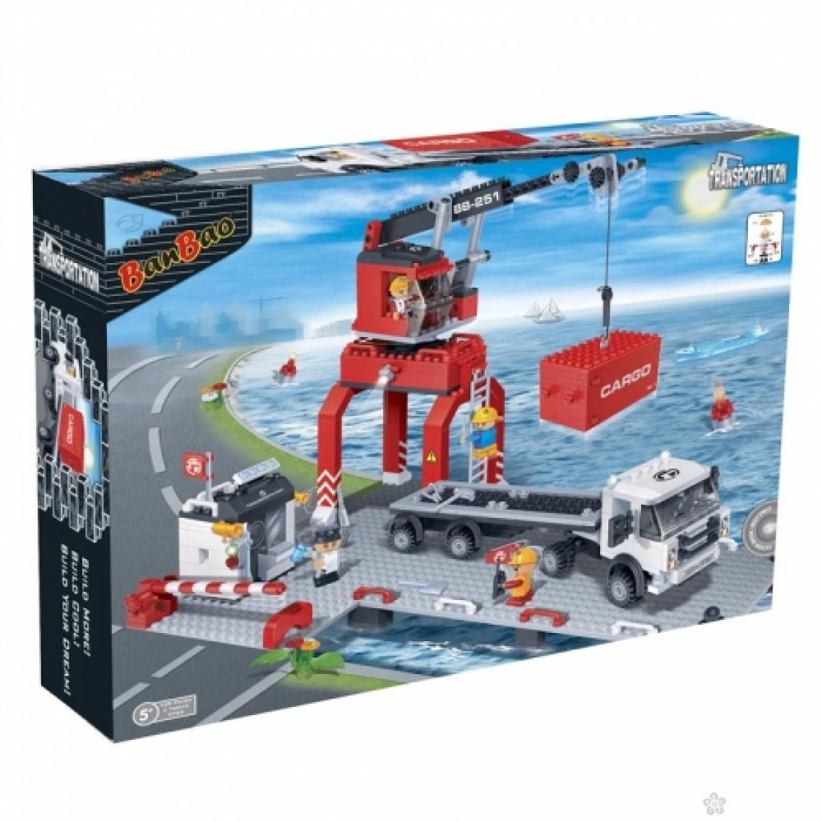 Utovarivač transporta u luci, 8766