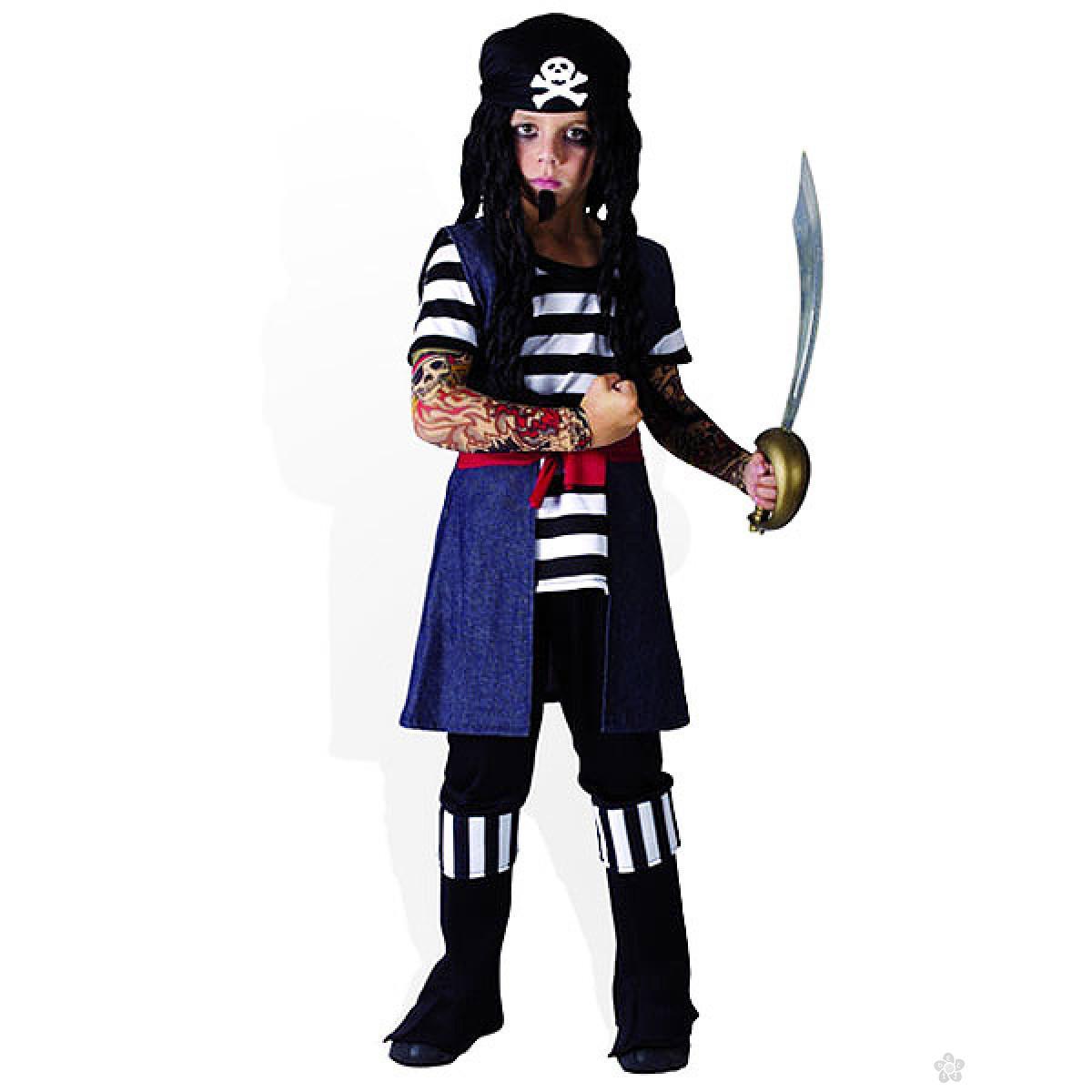 Kostim Pirat sa tetovažom