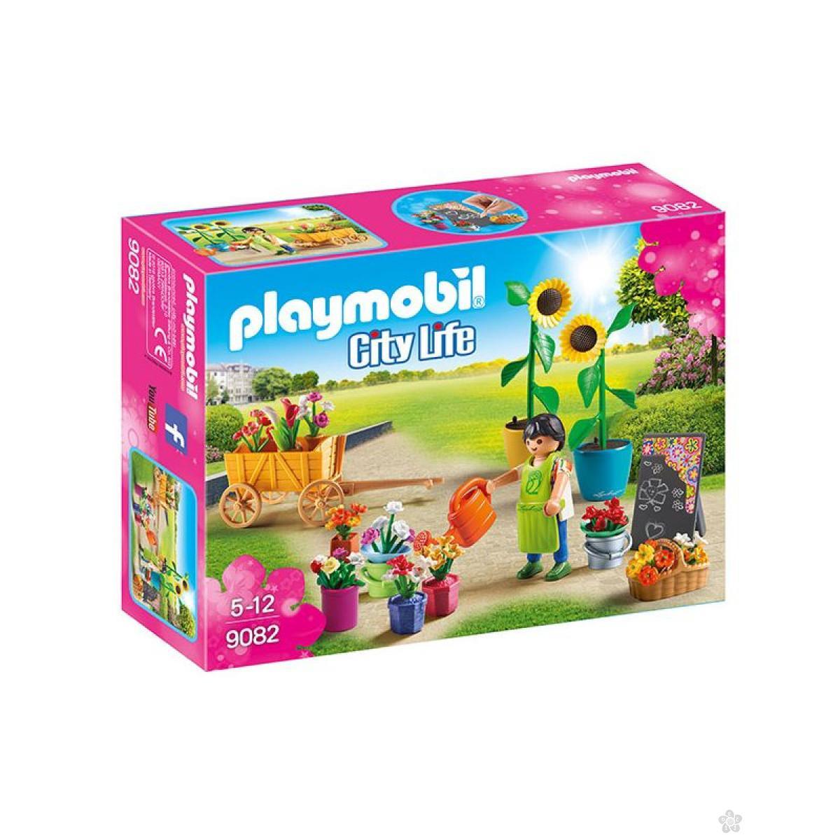 Cvećara Playmobil, 9082
