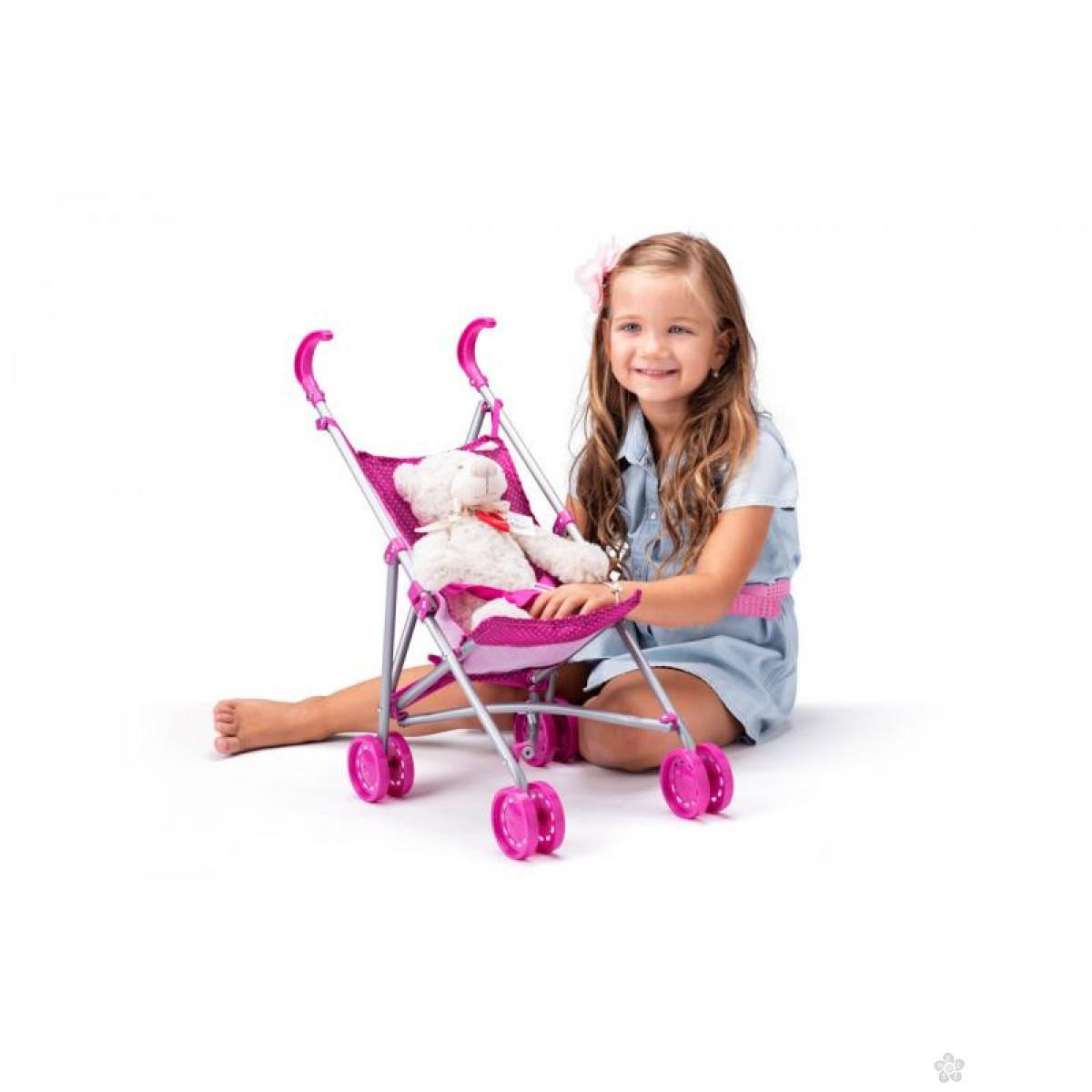Kolica za bebe za lutku - mala, 91507