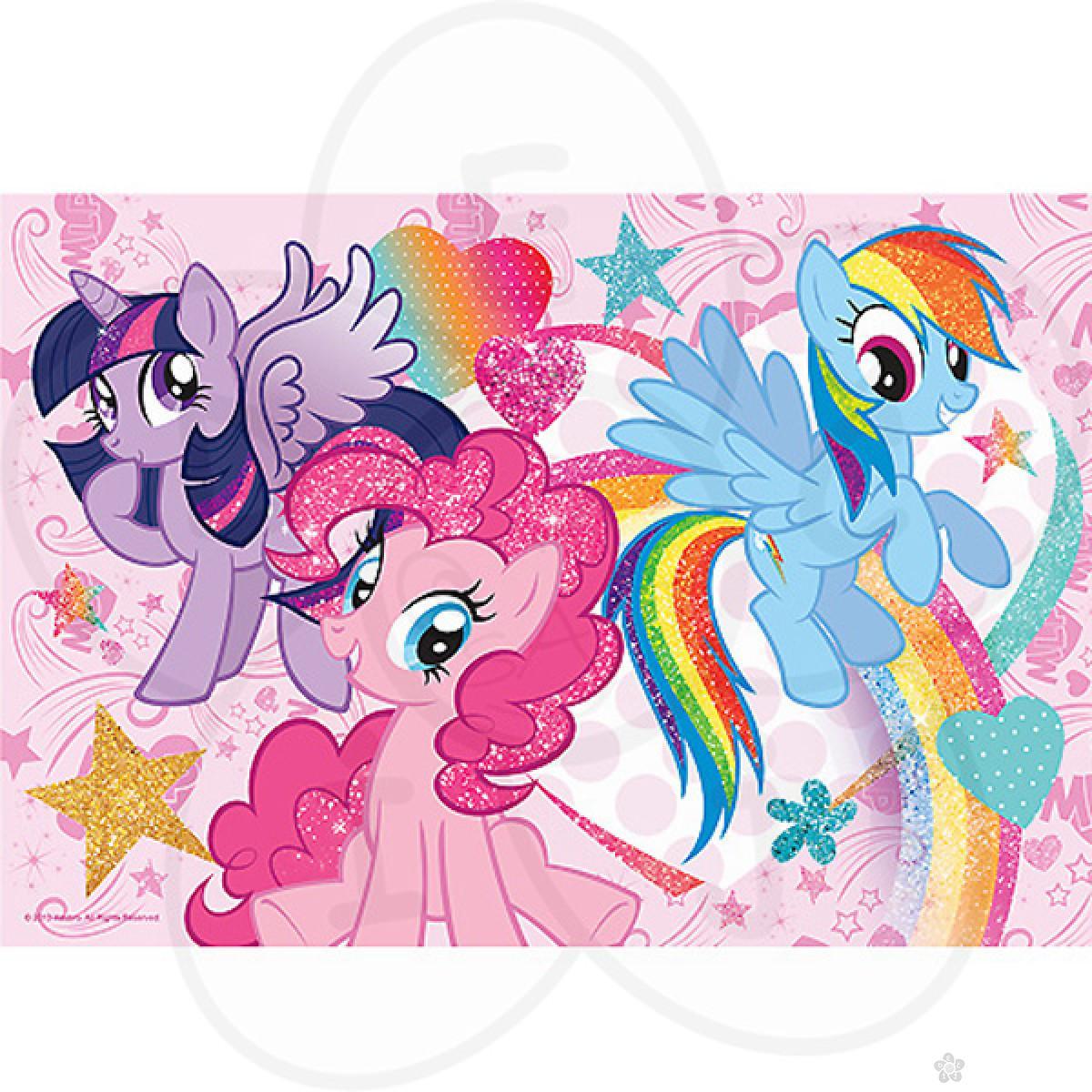 Puzzle za decu Trefl glam My little pony 14804