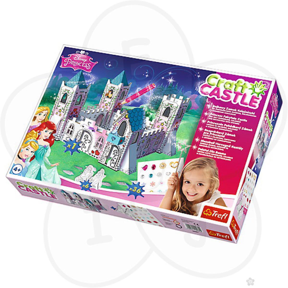 Puzzle za decu Trefl Disney Princess napravi svoj dvorac 20081