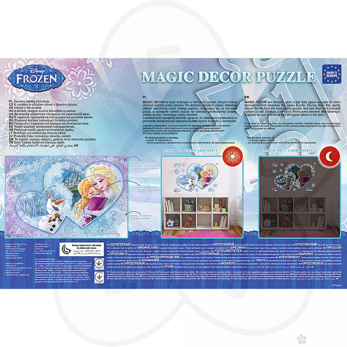 Puzzle za decu Trefl Magic Frozen decor 14615