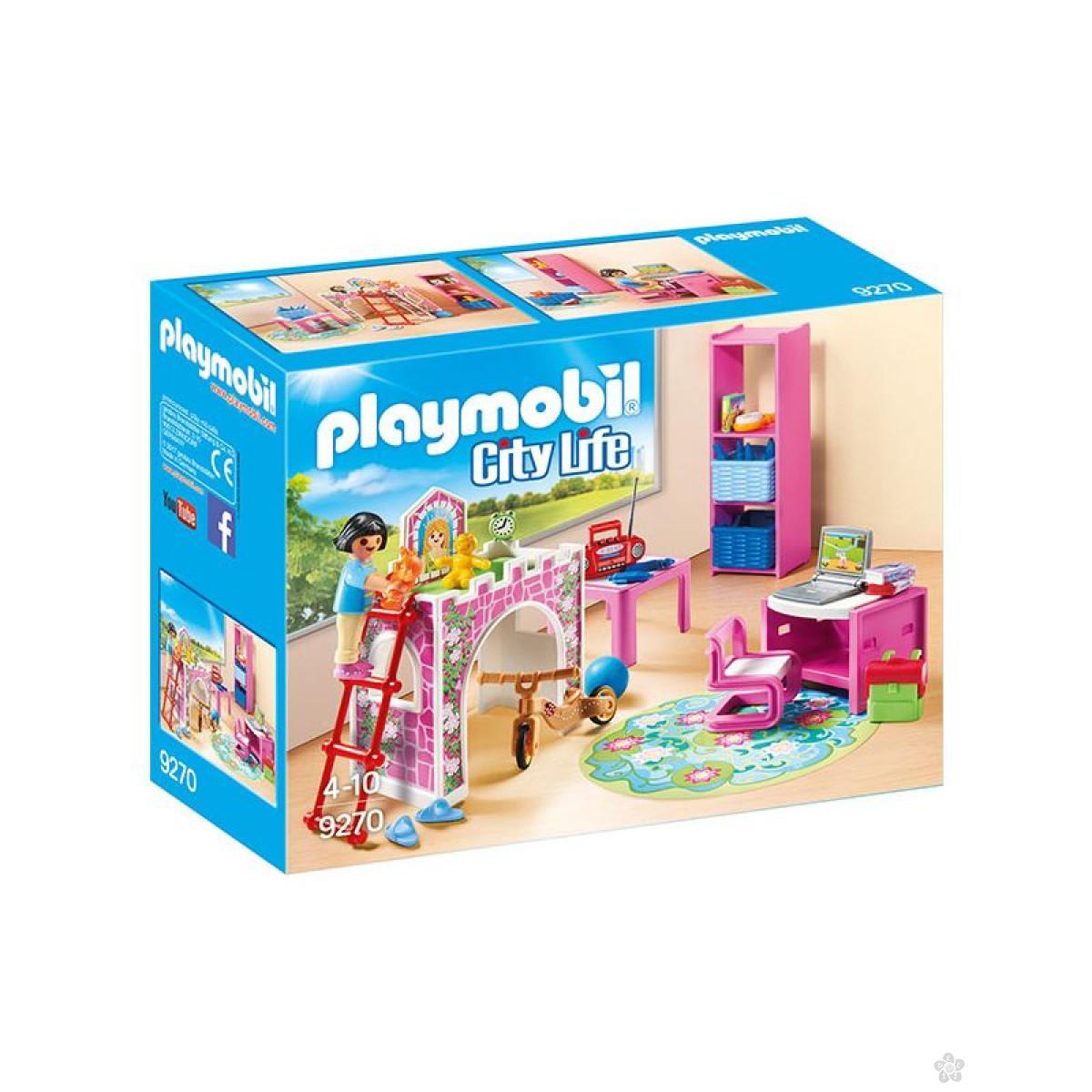 Dečija soba Playmobil, 9270