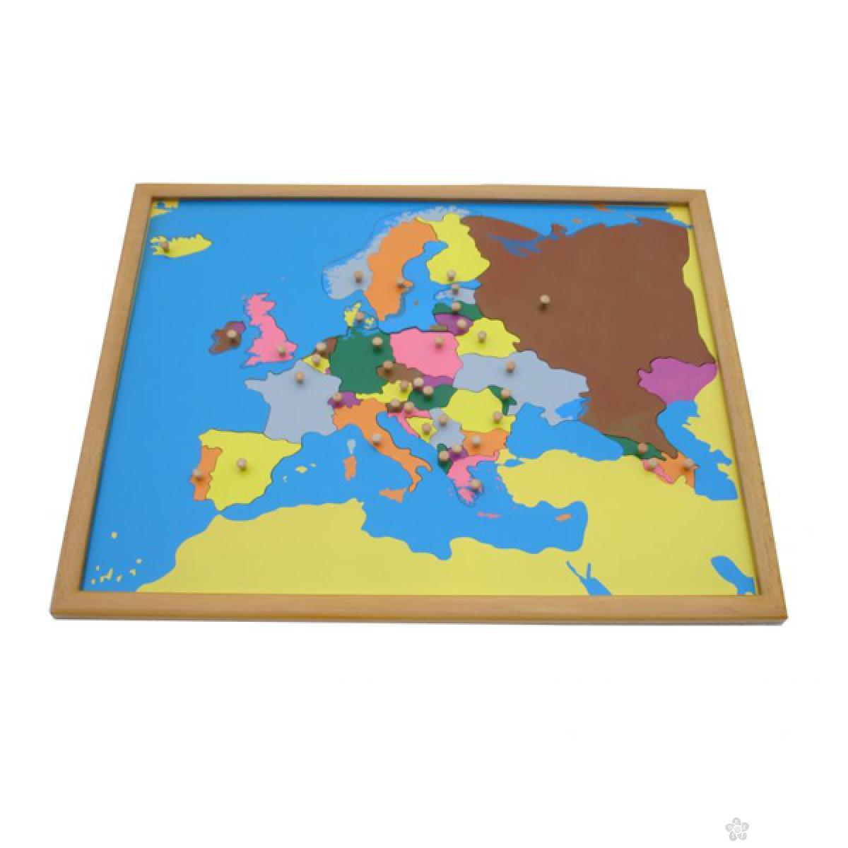 Montesori-puzzla Evropa, ATG0075