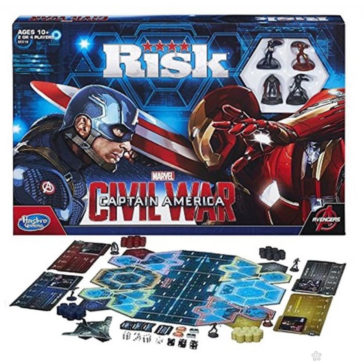 Društvena igra Risiko-Captain America B5518