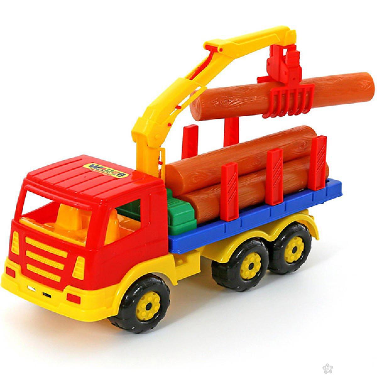 Kamion sa drvima BR44198