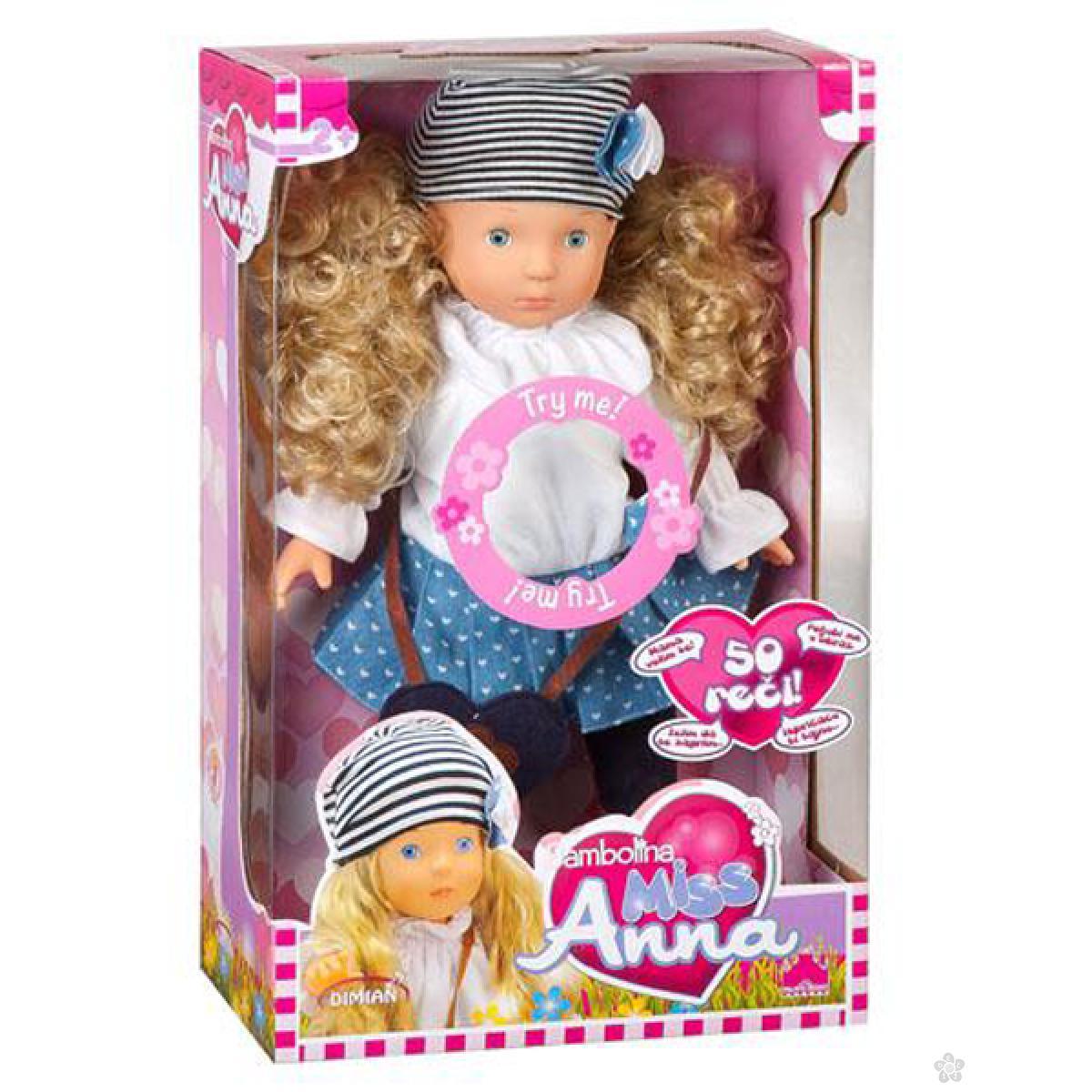 Lutka Bambolina Miss Anna D1363