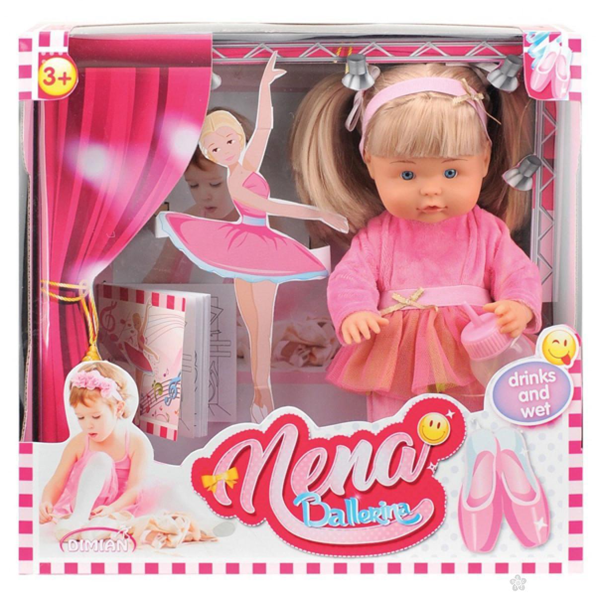 Lutka Bambolina Nena balerina priča na srpskom jeziku 36cm D380