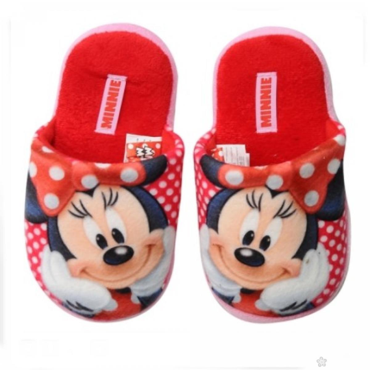 Papuče Minnie Mouse D61102 crvene