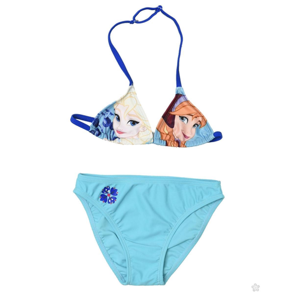 Dvodelni kupaći za devojčice - bikini Frozen, D94230