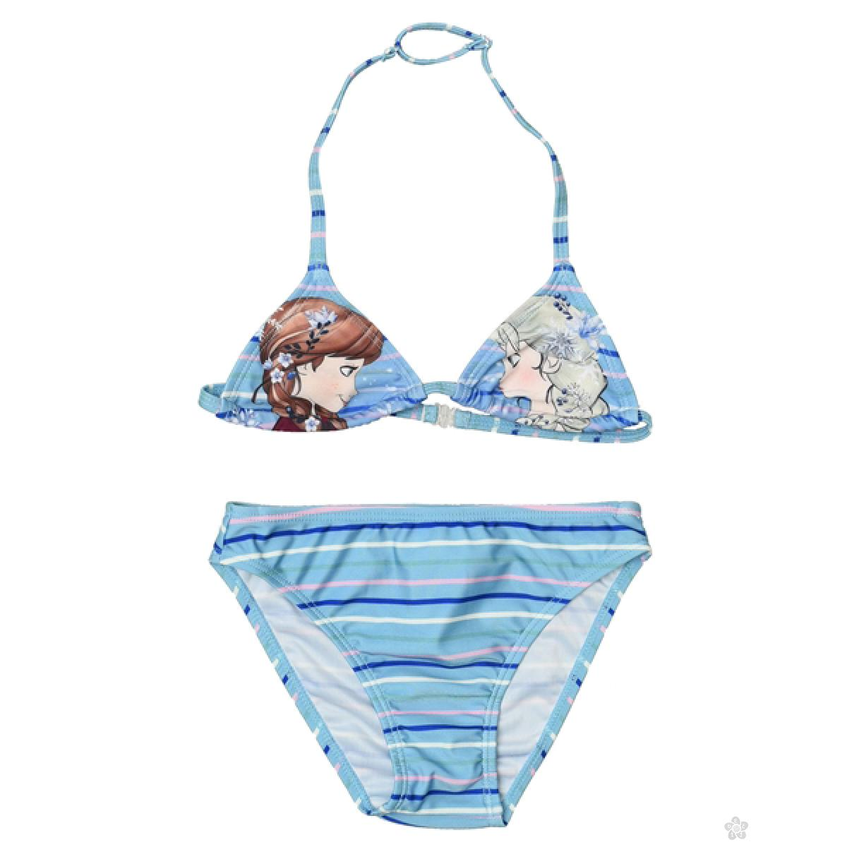 Dvodelni kupaći za devojčice - bikini Frozen, D94232