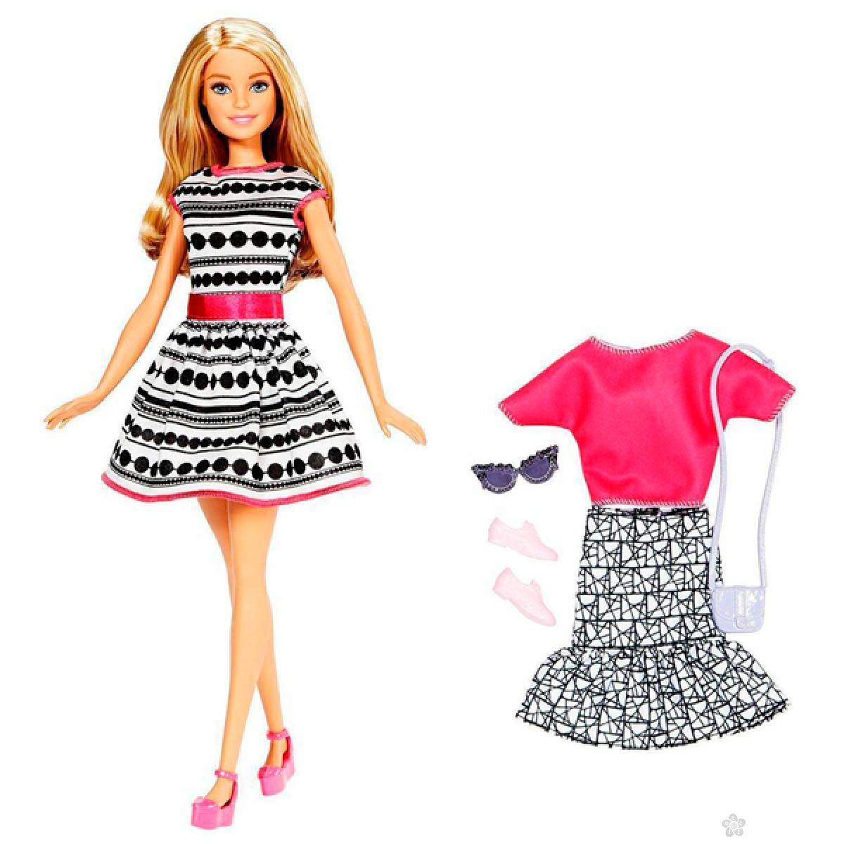 Barbie lutka i fashion set, FFF59