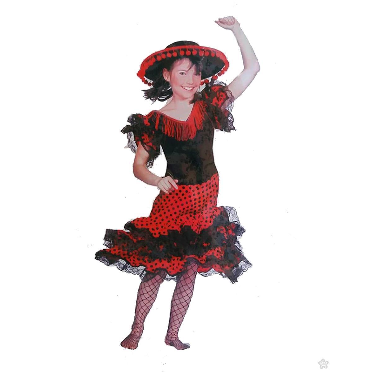 Kostim Flamenko plesačica Funny Fashion