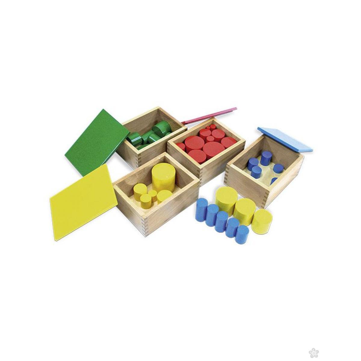 Montesori kutije sa cilindrima 4/1, HTS0045