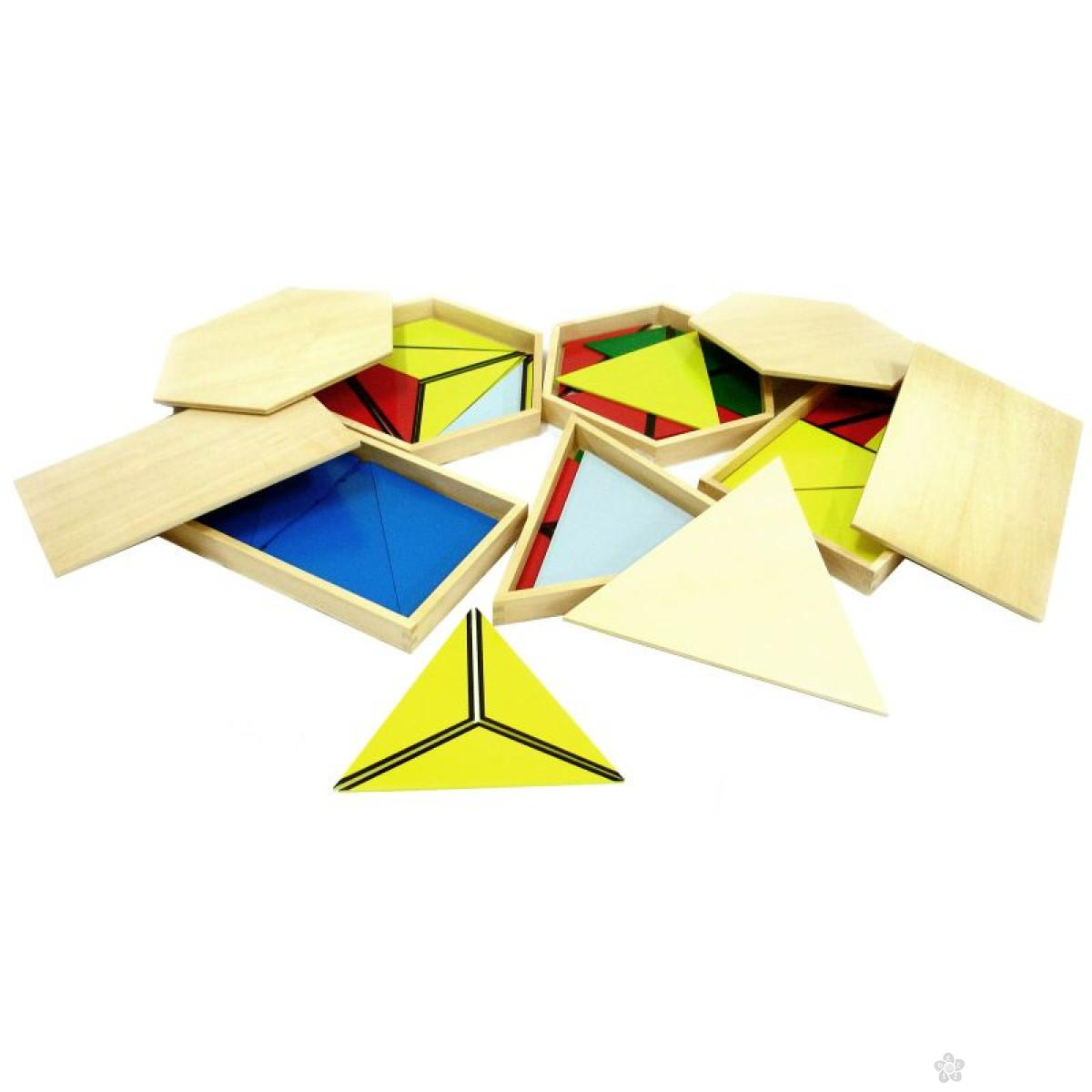 Montesori konstruktivni trouglovi, HTS0257
